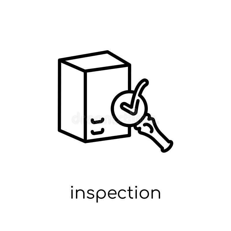 Inspektionsikone  vektor abbildung