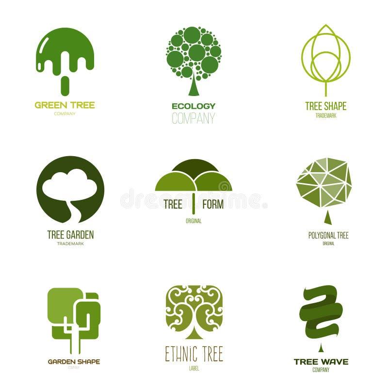 Inspiração do logotipo para lojas, empresas, propaganda ou outros setor ilustração royalty free