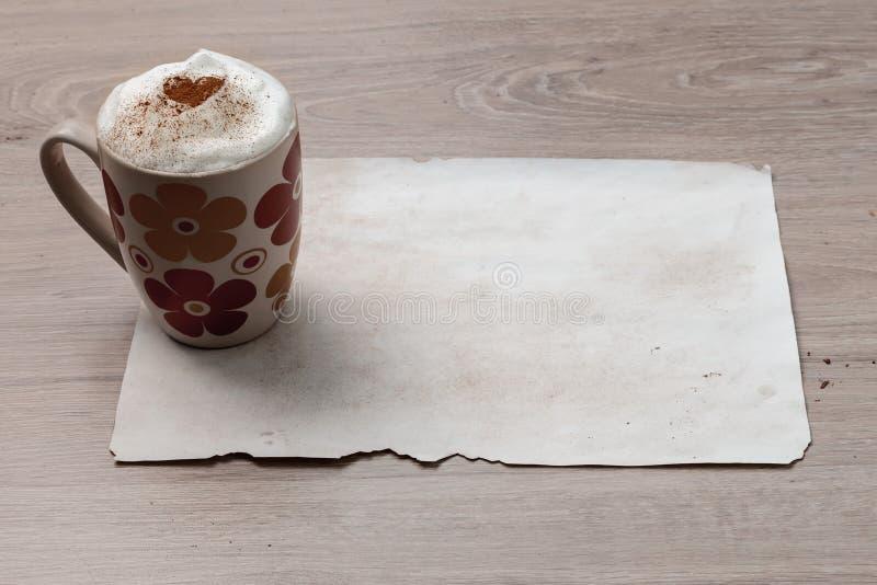 Inspiración dulce del café imagen de archivo