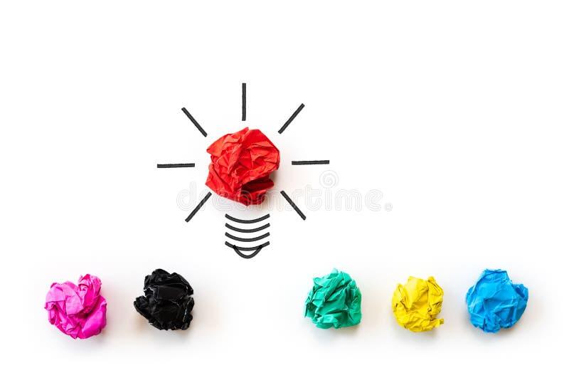 Inspiraci i doskonałego pomysłu pojęcie zdjęcia stock