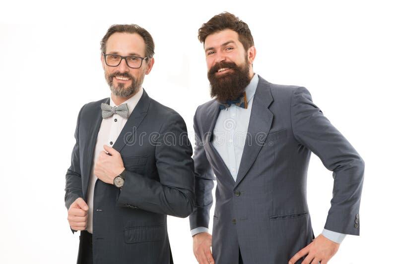 Inspirado para trabalhar duramente Fundo branco dos empresários dos homens Equipe do neg?cio Executivos do conceito Desgaste farp fotos de stock royalty free