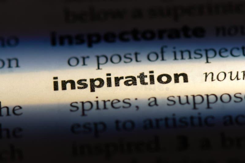 inspiratie stock foto's