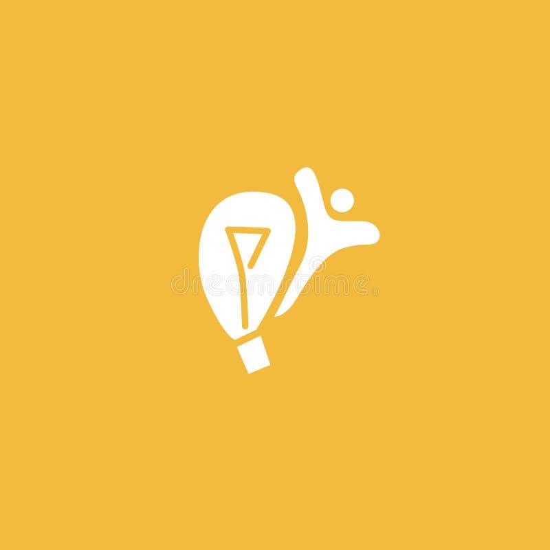 Inspiratie, creatief agentschap, innovatie, elektrische energie, ontwerper, opleiding, het pictogram van het onderwijsweb Idee mi stock illustratie