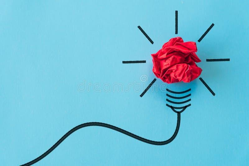 Inspiratie en groot ideeconcept royalty-vrije stock afbeelding