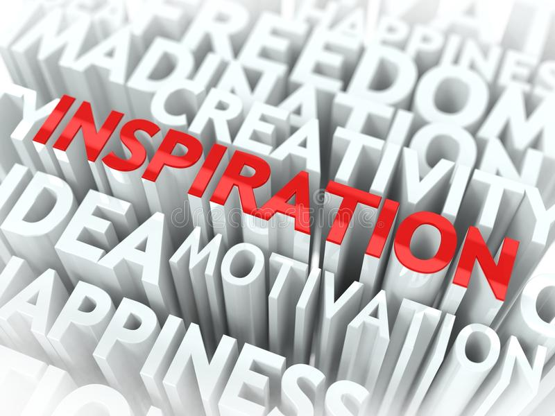 Inspiration Concept. Royalty Free Stock Image