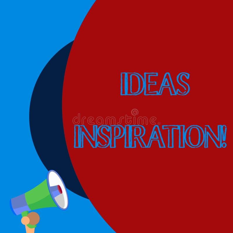 Inspiration för handskrifttextidéer Begrepp som betyder känsla av entusiasm dig för att få från någon eller något gammal design stock illustrationer