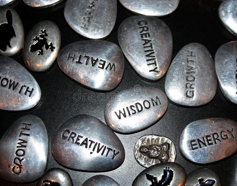 Download Inspiration Stones Royalty Free Stock Images - Image: 21043299