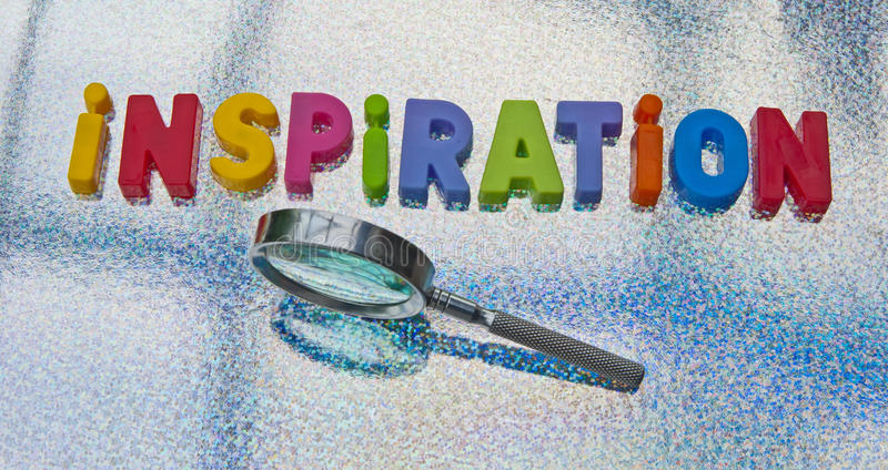Inspiration stock photo