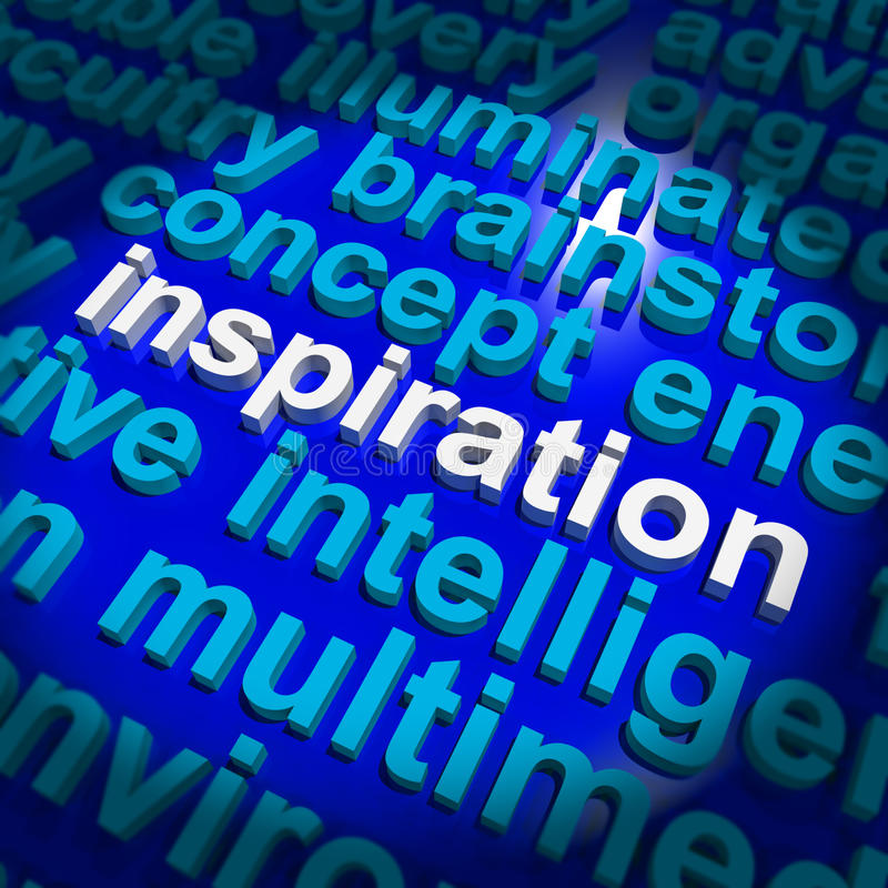 Download Inspiration Word Showing Positive Thinking Stock Image - Image: 24615687