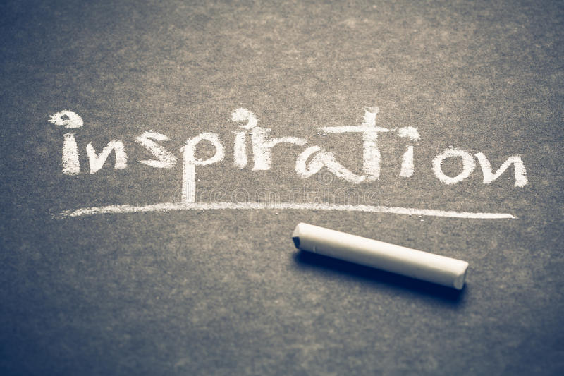 Inspiration stock image