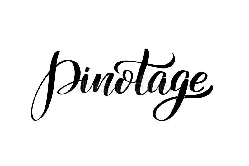 Inspirational handwritten brush lettering . Vector calligraphy illustration royalty free illustration