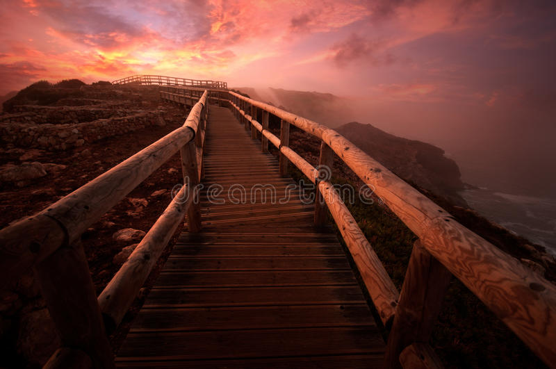 Download Path at dawn stock image. Image of farm, rural, footpath - 30272587