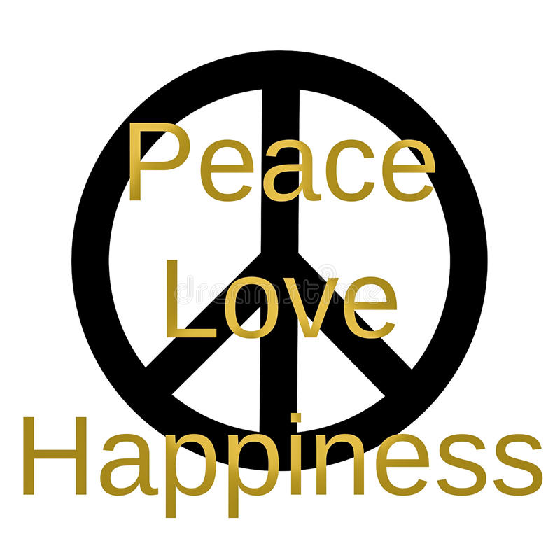 Peace Love And Happiness Quotes Captivating Inspirational And Mindful Quote Peace Love And Happiness Stock