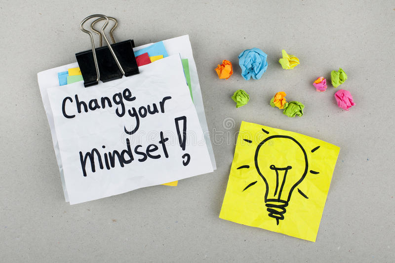 how to change your mindset about life