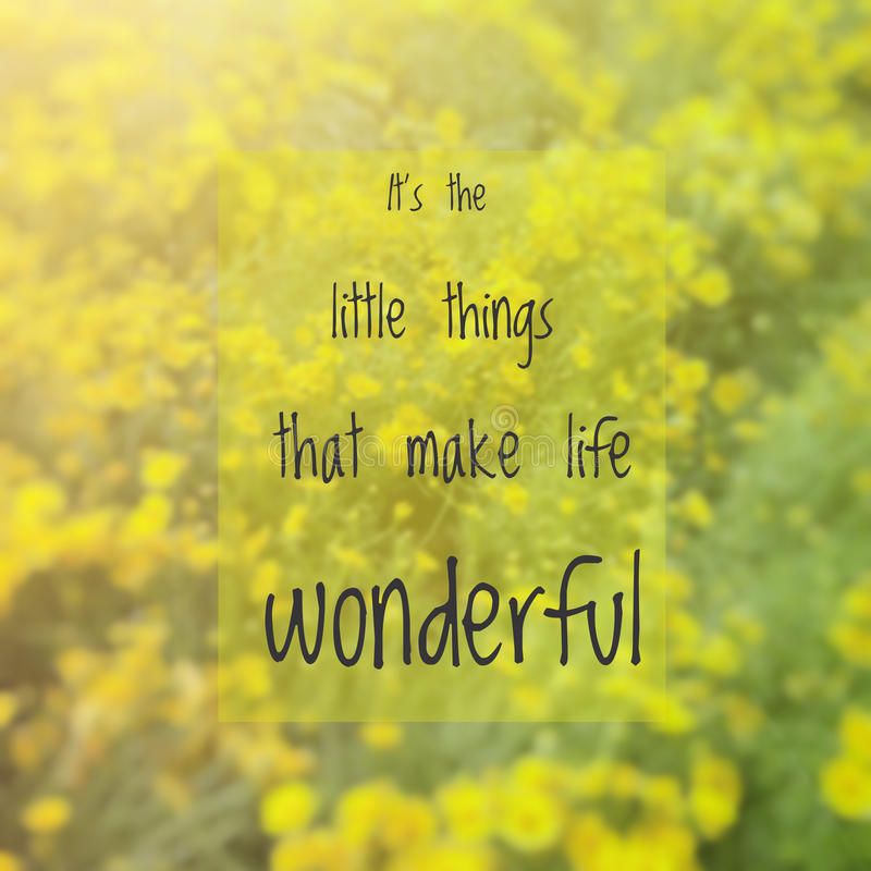 Inspirational quote stock images
