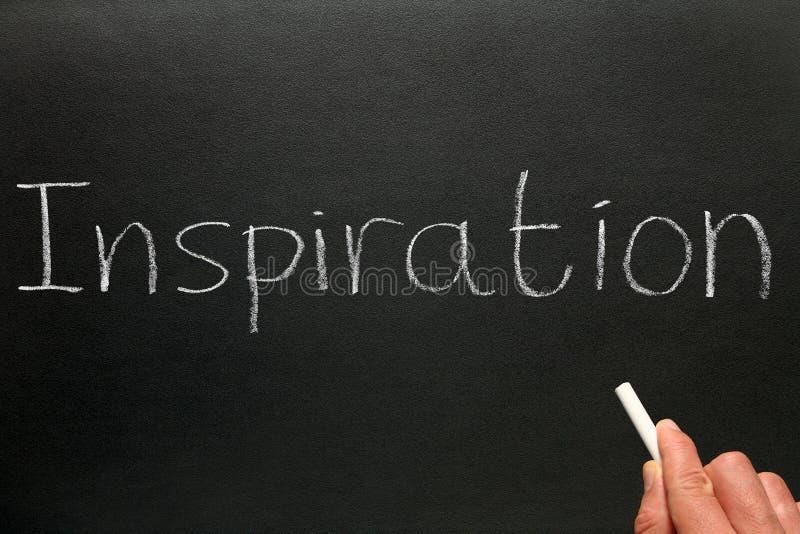 inspirationwriting arkivfoto