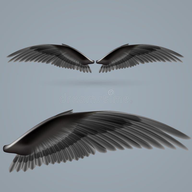 Inspire as asas ilustração stock