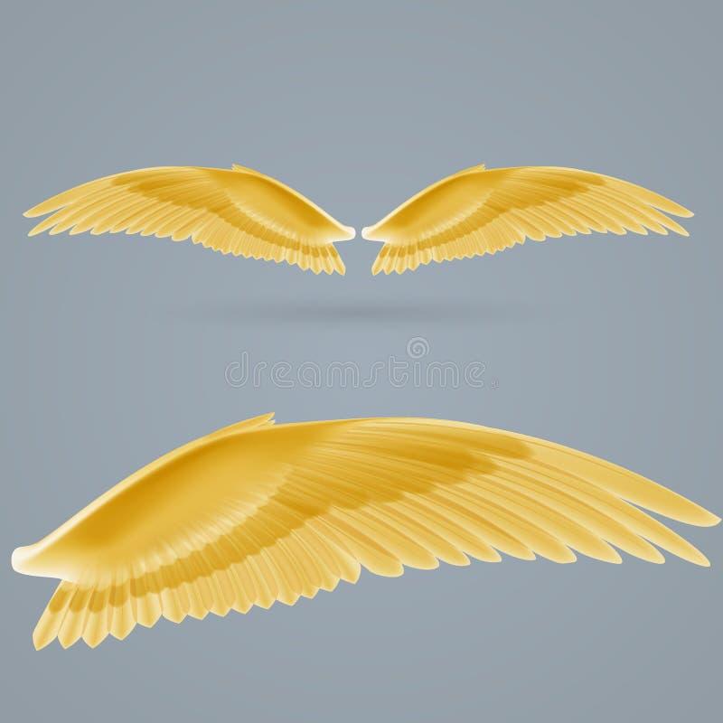 Inspire as asas ilustração do vetor