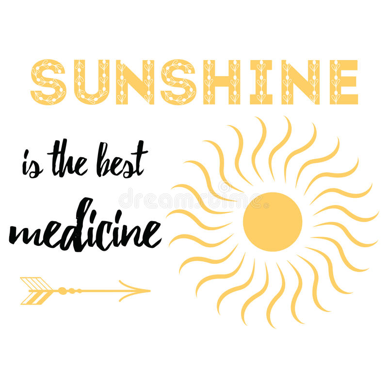 Best Quotes About Medicine: Inspire Quote About Life 'Sunshine Is The Best Medicine