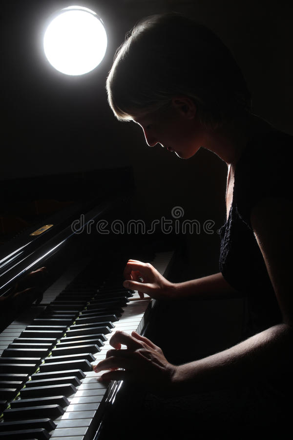 Inspired musician fine art photo royalty free stock images
