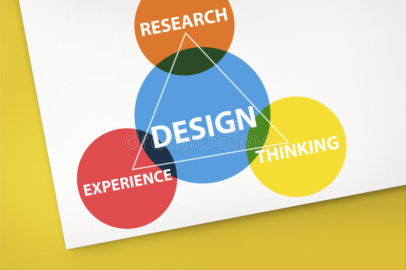 Inspireer is Creatief het Denken Concept royalty-vrije illustratie