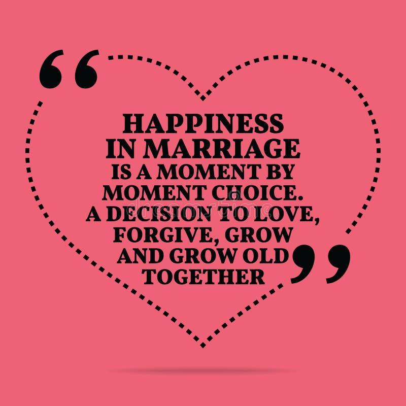 Inspirierend Liebesheiratzitat Glück In Der Heirat Ist Ein