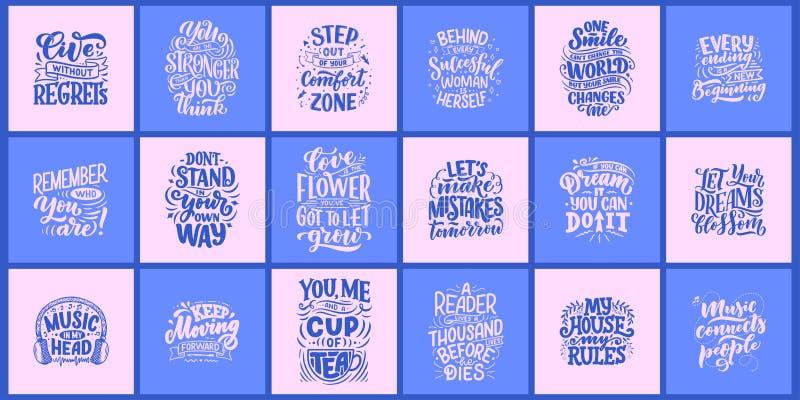 Inspirierend Zitate Handgezogene Weinleseillustrationen mit Beschriftung Für Drucke auf T-Shirts und Taschen zeichnen, stationär  lizenzfreie stockfotografie