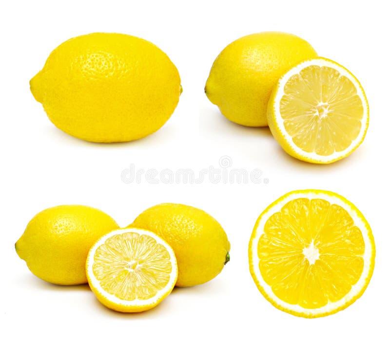 inställda citroner arkivbilder