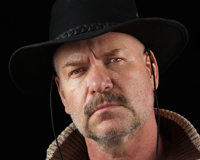 inställningcowboy royaltyfri foto