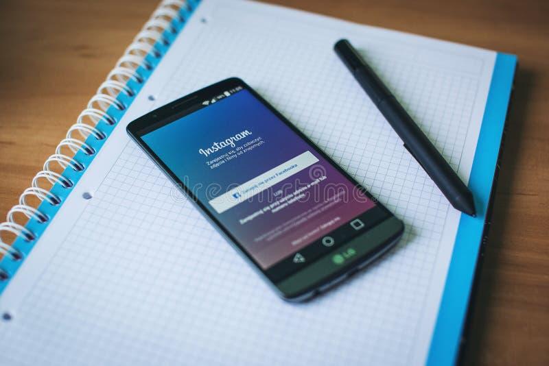 Instagram App On Smartphone Free Public Domain Cc0 Image