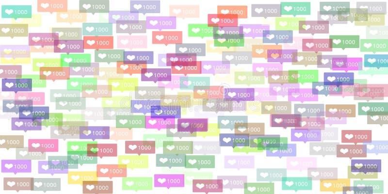 Instagram Likes Stock Illustrations – 245 Instagram Likes