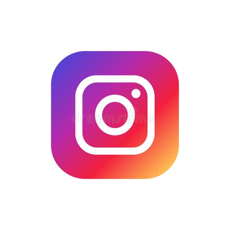 Instagram Logo Editorial Vetora Illustration ilustração royalty free