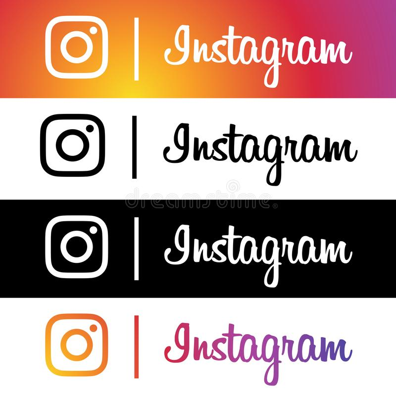 Free Instagram New Logo And Icon Stock Image - 159341011