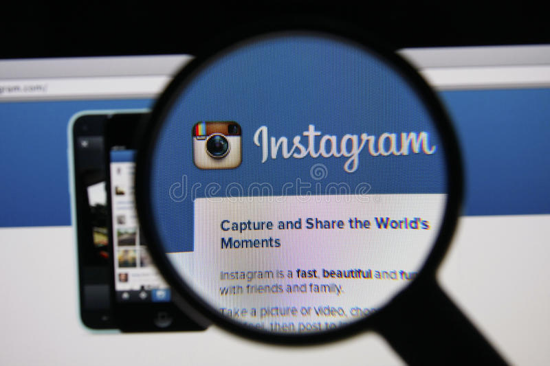 Instagram royalty free stock photography