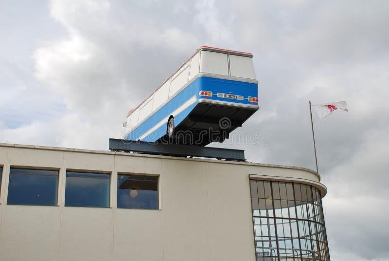 A instalação da arte, Bexhill-em-Mar fotografia de stock