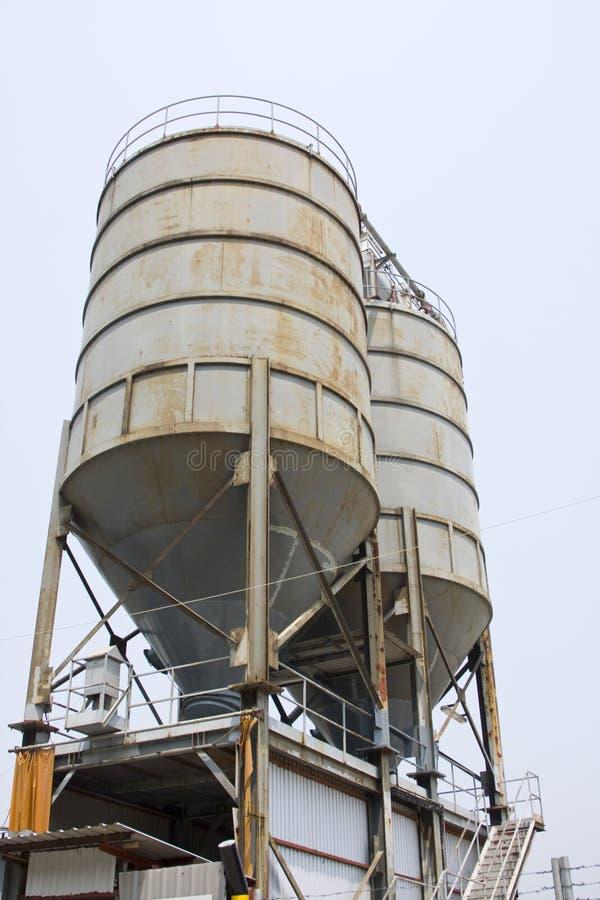 A instalação de equipamento da indústria petroleira, fotos de stock royalty free