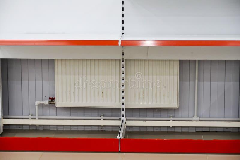 A instalação do equipamento, do conjunto e da desmontagem comerciais fotografia de stock royalty free