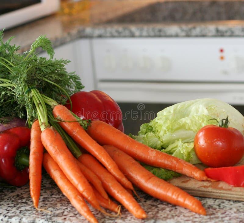 Instalação dos vegetais fotografia de stock royalty free