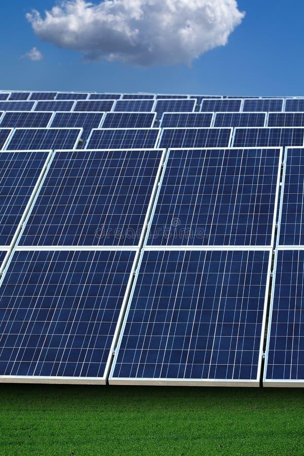 A instalação Photovoltaic imagem de stock royalty free