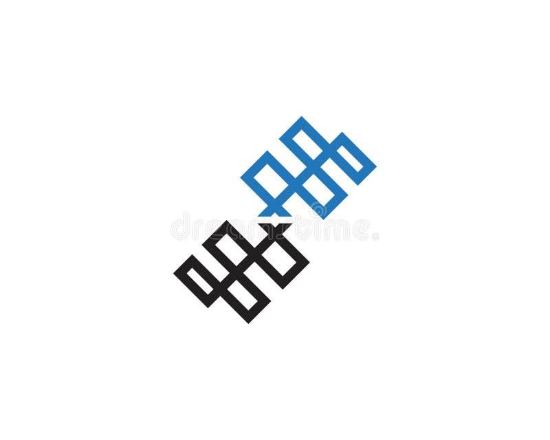Instalacji wodnokanalizacyjnej ikony logo projekta wektor ilustracja wektor