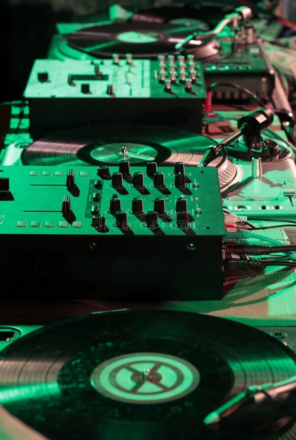Installation de mélangeur d'Elettronic photo libre de droits