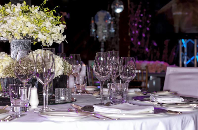 Installation de mariage images stock