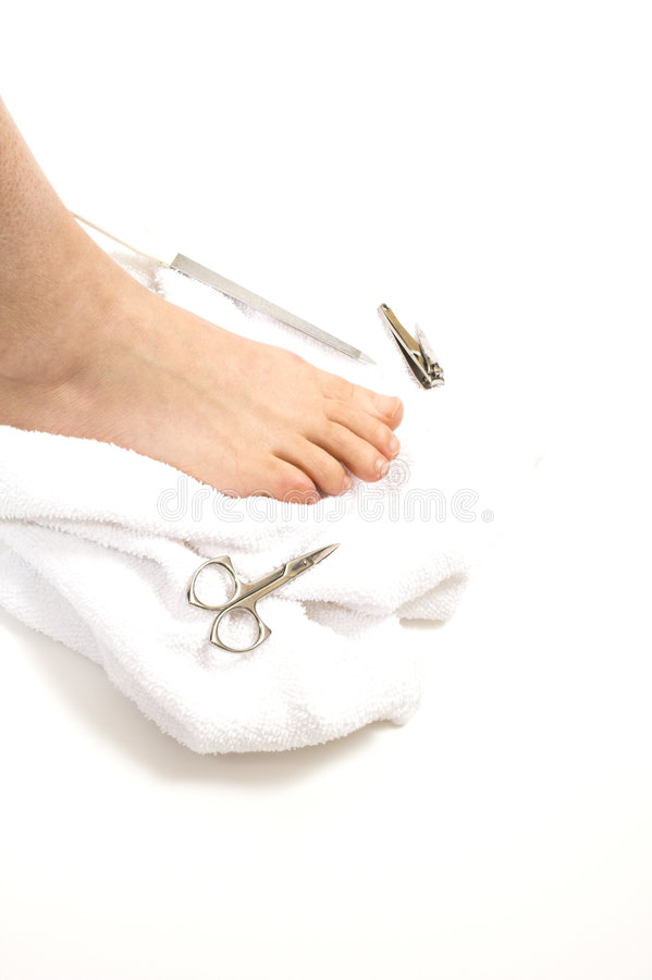 Download Installation de Pedicure image stock. Image du pied, santé - 744165