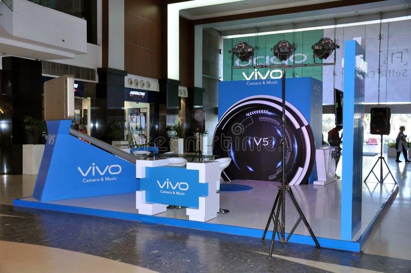 Installation de Vivo photo stock
