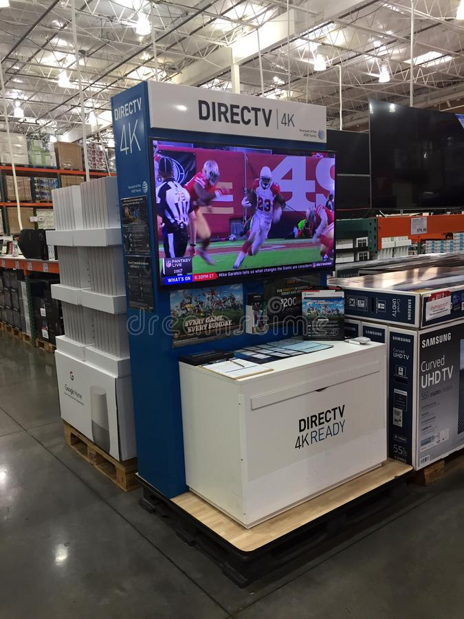 Installation directe de TV photos stock