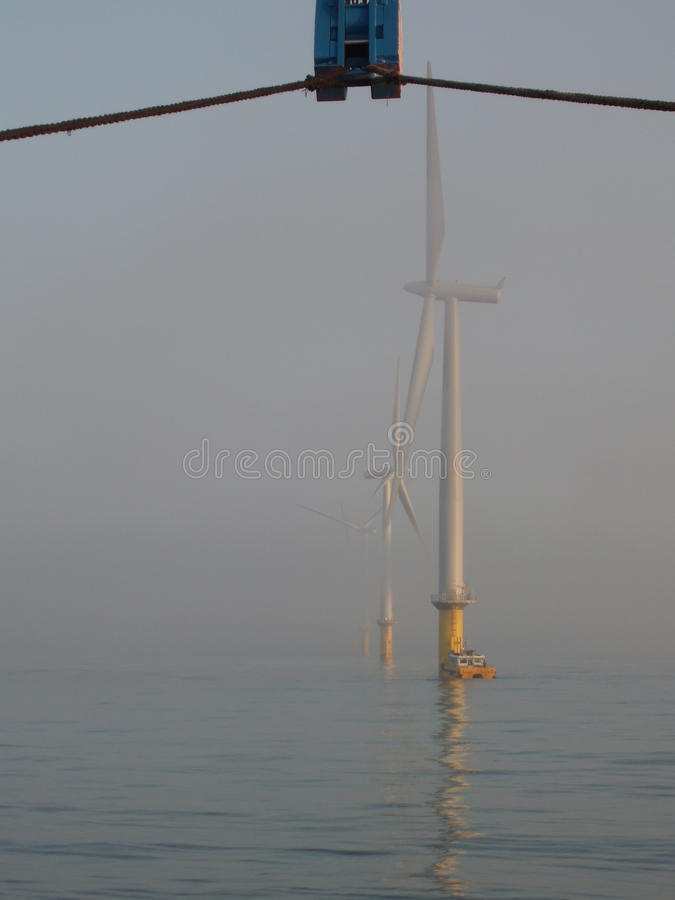 Download Installation of WTG stock photo. Image of crane, generator - 13227690