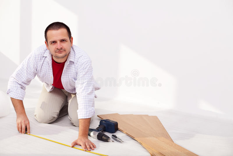Installing laminate flooring - the isolation layer