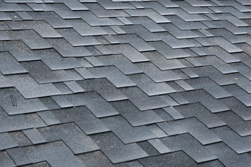 Installing Shingles. Installing Bitumen Roof Shingles. royalty free stock images
