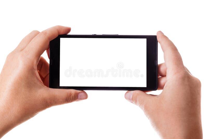 Instantâneo com telefone celular imagens de stock royalty free
