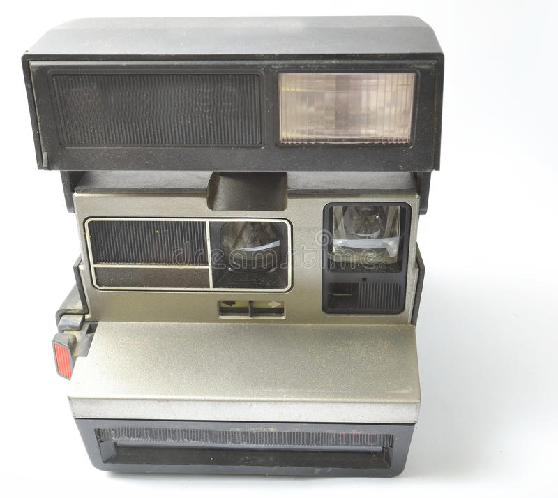 Download Instant Camera And Dusty From The Front And Open Stock Image - Image of images, color: 25470987